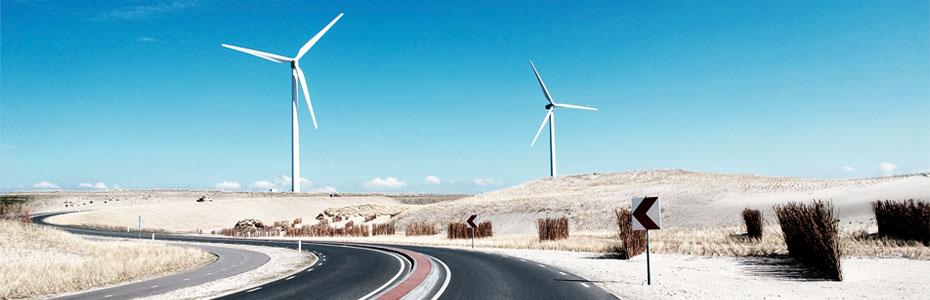 Turbinas eólicas Energía Sustentable