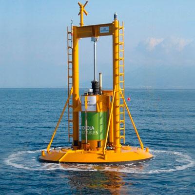 Energía Sustentable oceano