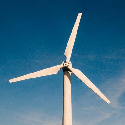 Turbina eólica ahorro de energia