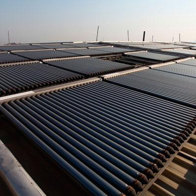 Calefacción solar de agua