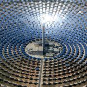 Concentración de energía solar